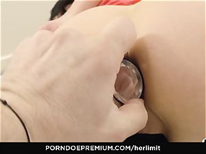 HER restrict - tough anal and face pummel with Sasha Rose