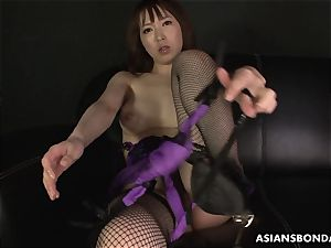 japanese stunning underwear during the greasy getting off