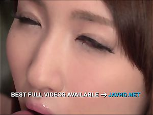Rikka Anna awesome japanese blowage with sensuous
