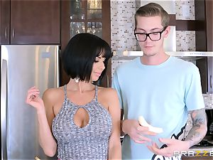 naughty mother Veronica Avluv poking her sons wild mate