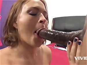 Krissy Lynn Gets A rigid big black cock In Her beaver