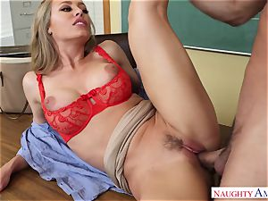Nicole Aniston - My first teacher, who told me about fucky-fucky and took my spear on the desk