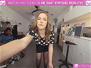 VRBangers.com Hairdresser Ella plowed hard and facial cumshot