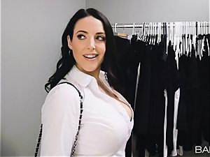 Angela white prefers it black