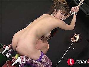 chinese bondage splooging