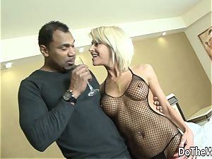 mummy wife takes black man sausage in all fuckholes