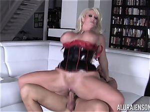 ultra-kinky Alura Jenson demonstrates her spouse a fresh side of her