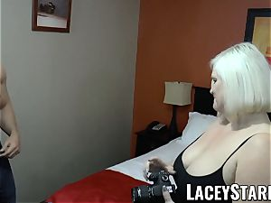 LACEYSTARR - GILF entices gigantic dicked grizzly into fucking