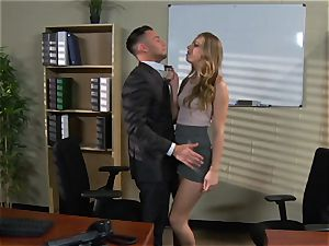 Jillian Janson gets her way with the manager