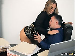 secretary Nicole Aniston drilled in the pussyhole
