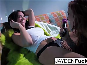 Jayden Jaymes and Jayden Cole get insatiable