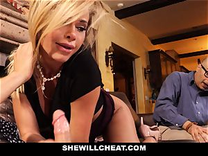hotwife spouse sees Wifes slit Get ruined