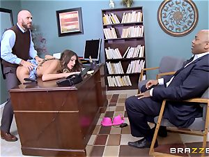 delightful August Ames gets boned by the dean
