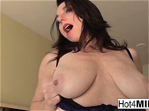 Karen Kougar gets a man rod in her ass