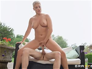 Ryan Keely enjoys to ride on top