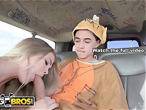 BANGBROS - Brooke Karter lick slurps Juan's large meatpipe