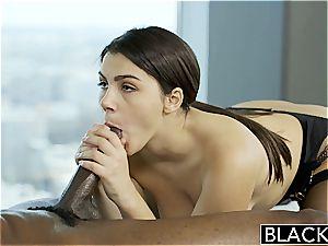 BLACKED magnificent Italian babe Valentina Nappi ass licking dark-hued boy With enthusiasm