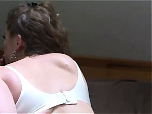 Erin Electra satiates with her soles and takes a creampie