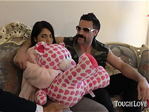 TOUGHLOVEX Gina Valentina punished for being a bad chick