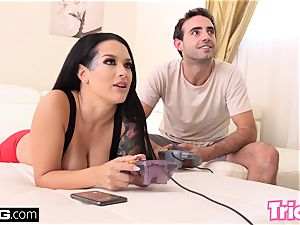 Trickery step bro humps sister Katrina Jade