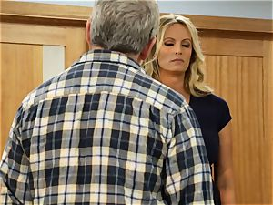 Unbrided pt three Rachel Starr gets her muff handled
