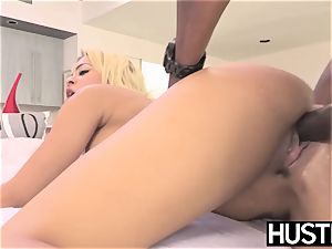 big-boobed vixen Luna starlet railed rigid in big black cock session