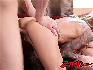 milf threesome what a pounding party