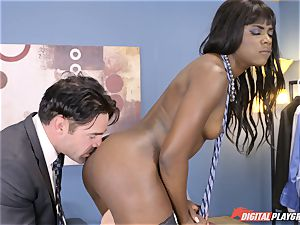 spectacular Ana Foxx has super-hot steaming bang-out with Charles Dera