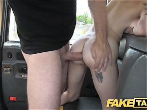 fake cab innocent american gal gets bum boned