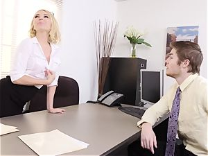weird cougar Aaliyah love Gives worker a elevate