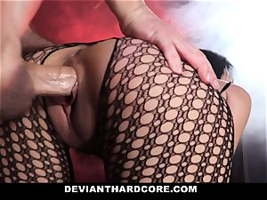 DeviantHardcore ultra-kinky chinese Gets taut cunt lashing