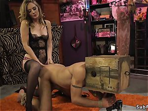 Dom fuckslut smacks and rectal nails male