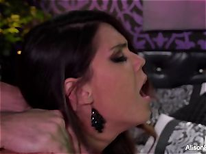 chesty Alison Tyler gets ravaged hard