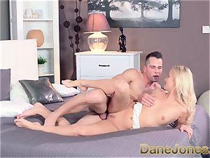 Dane Jones Patient lover gives platinum-blonde nubile gonzo fuck-a-thon