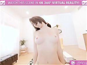 VR porno - JOSELINE KELLY MY SISTERS red-hot acquaintance shag