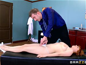 Patient Penny Pax poked by giant dicked medic