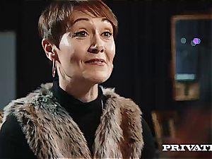 Private.com - Ella Hughes, spunk in Her furry gash
