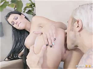 super-fucking-hot sisters Peta Jensen and Megan Rain share their stepbrother