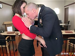 offender busty wife has dirty orgy with the prosecutor in the courtroom