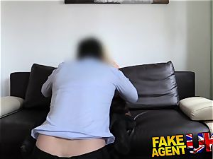 FakeAgentUK mind-blowing towheaded milf gets a superb porking