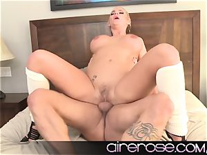 Airerose Phoenix Marie displays off her most prized ASSet