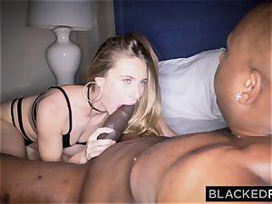 BLACKEDRAW youthful wife addicted to big black cock