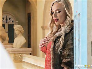 stunning blond Kayla Green poked firm