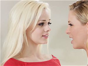 hide and squeak Sn 1 threesome with Cherie Deville and Elsa Jean