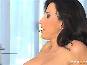 Lezley Zen watches Jessa Rhodes wildly ravage her stud