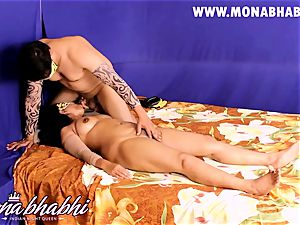 Mona Bhabhi Getting Seduced By Her hubby Indian style