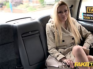fake taxi Driver gets more than a showcase by Amber Jayne