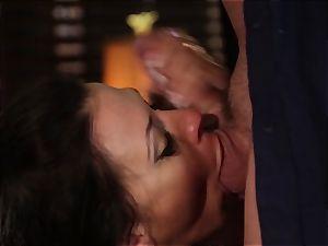 Rachel Starr pounding an sudden visitor