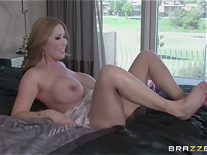 My chinese friend's scorching mature mother Kianna Dior takes my manmeat