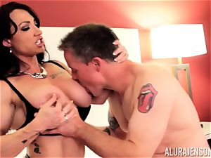 Alura Jenson and her slit licking pal Brandi May get into deep grief
